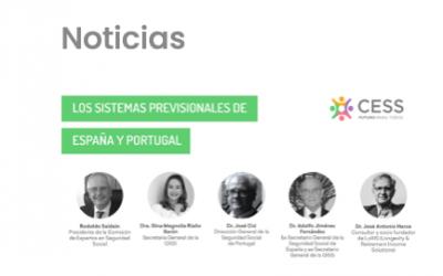 """José A. Herce invitado al webinar sobre """"Los sistemas previsionales de España y Portugal"""""""